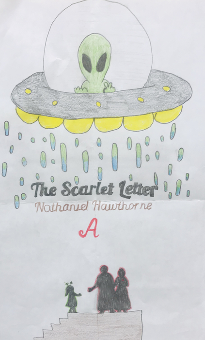 The Scarlet Letter with Aliens