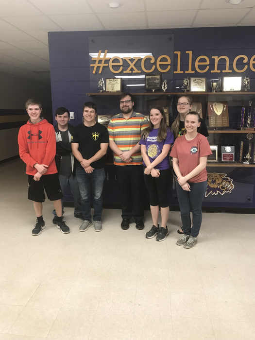 2019 Varsity Academic Team - State Bound!!!