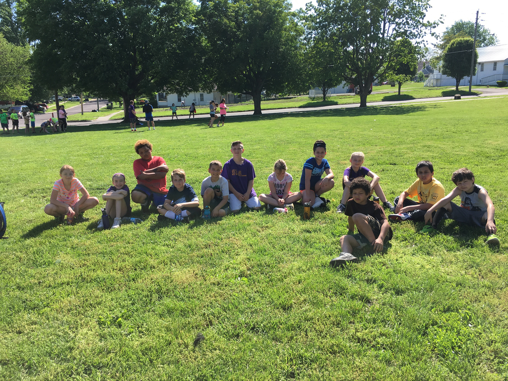4th grade T&F Day