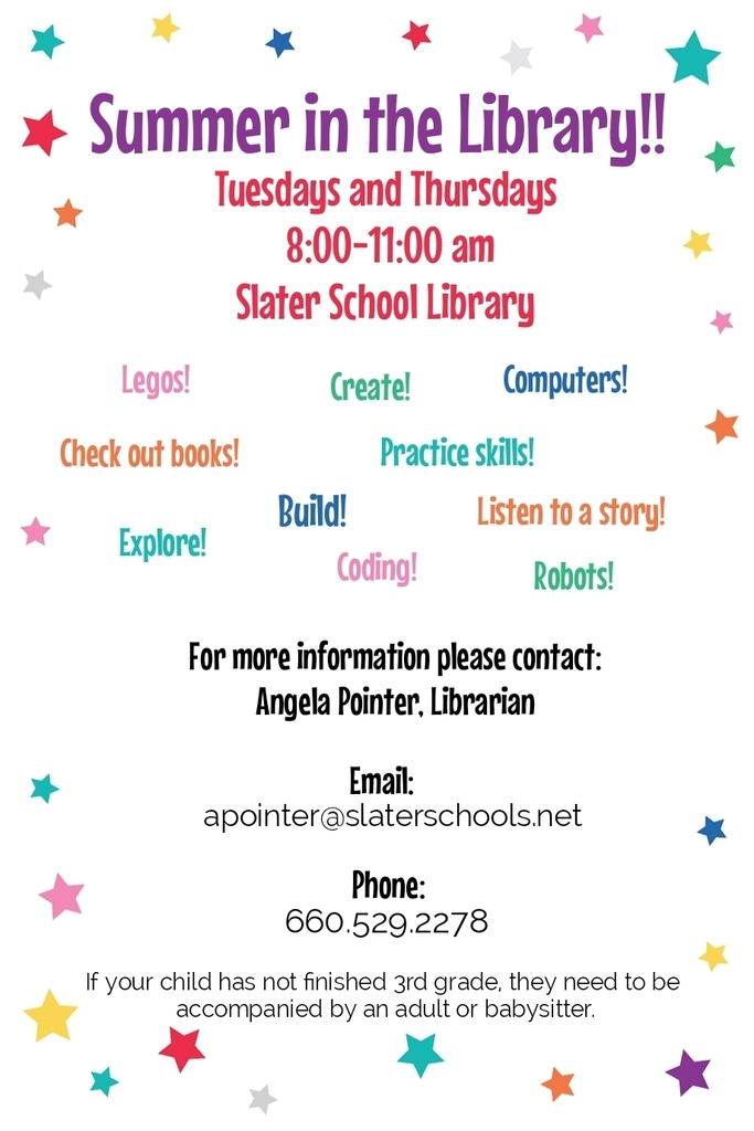 Summer Library flyer